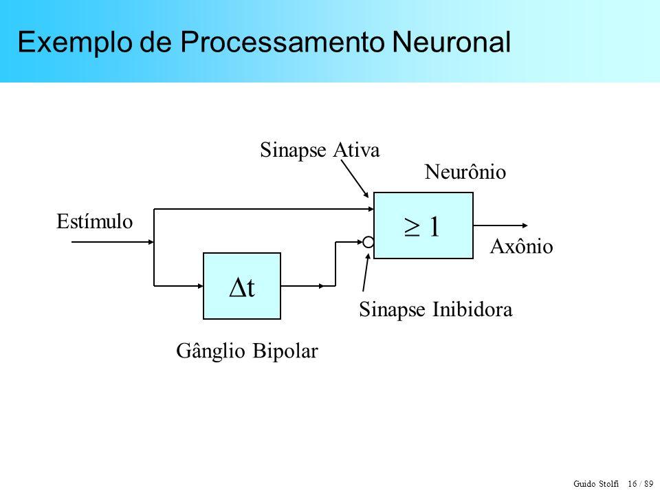 Exemplo de Processamento Neuronal