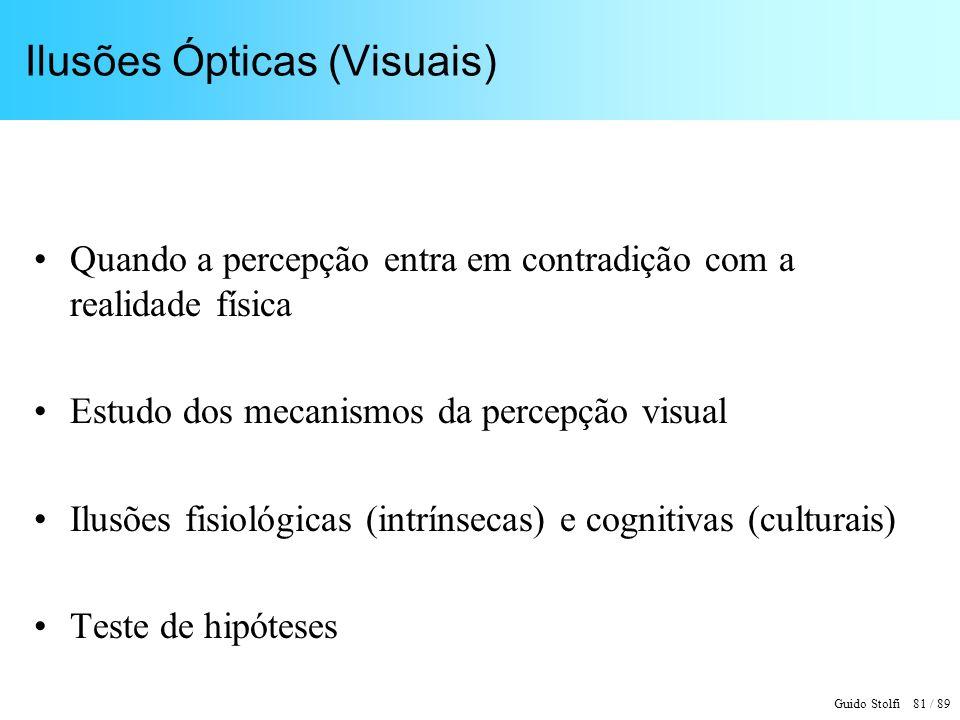 Ilusões Ópticas (Visuais)