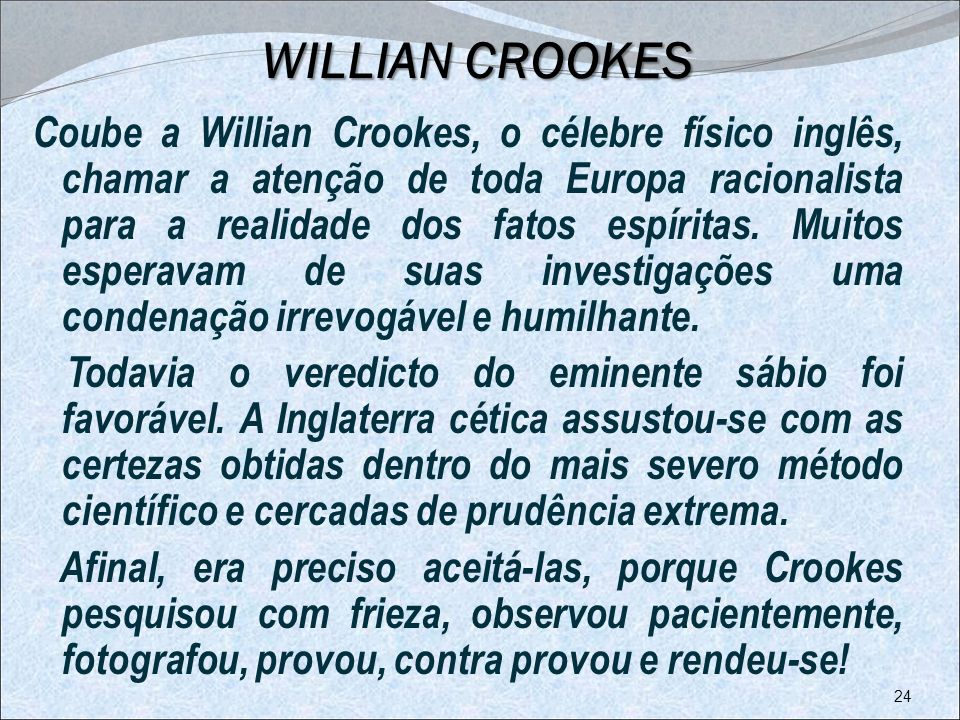 WILLIAN CROOKES
