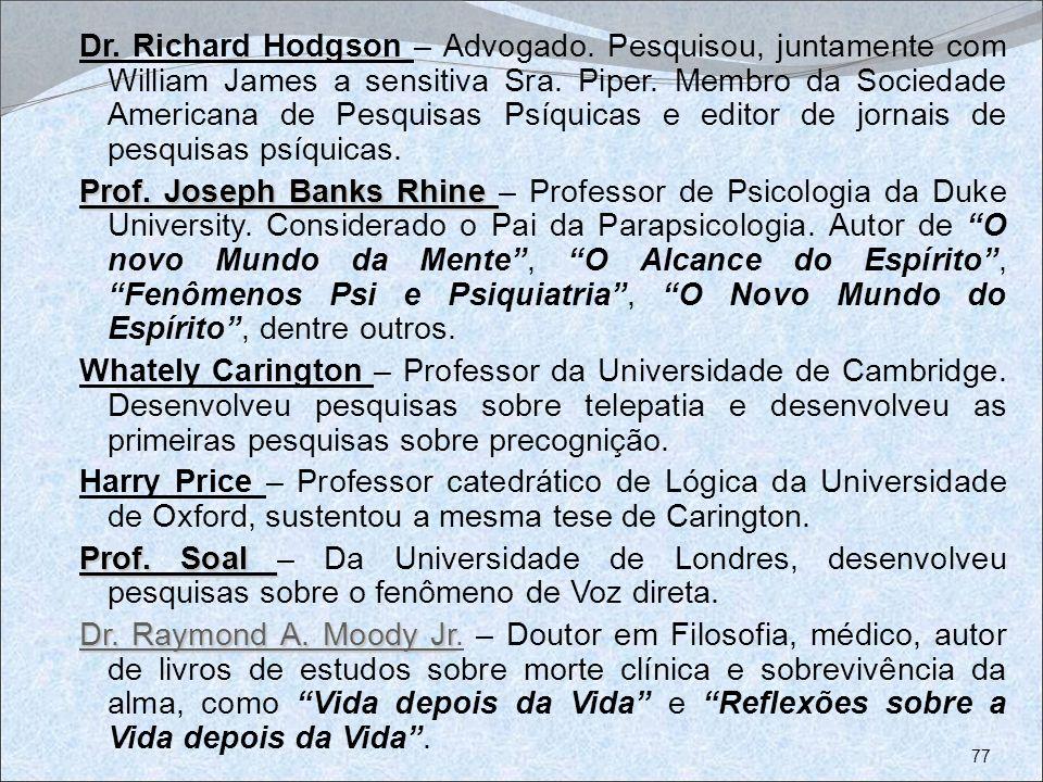 Dr. Richard Hodgson – Advogado