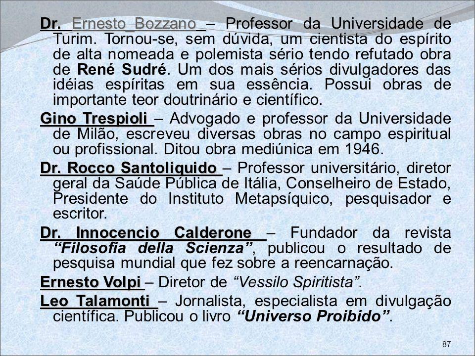 Dr. Ernesto_Bozzano – Professor da Universidade de Turim