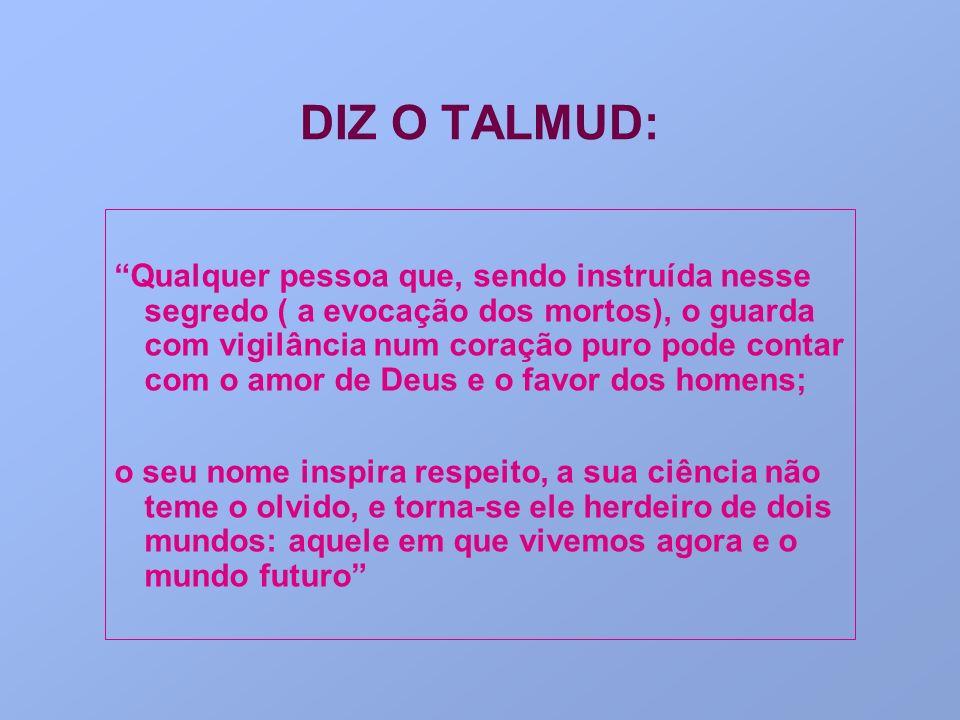 DIZ O TALMUD:
