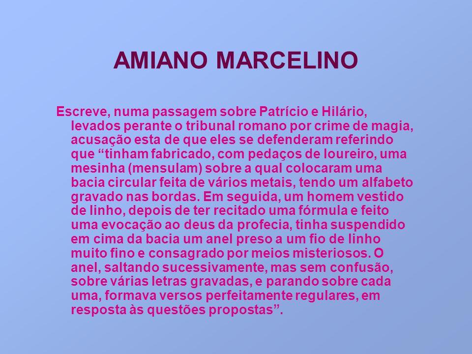 AMIANO MARCELINO