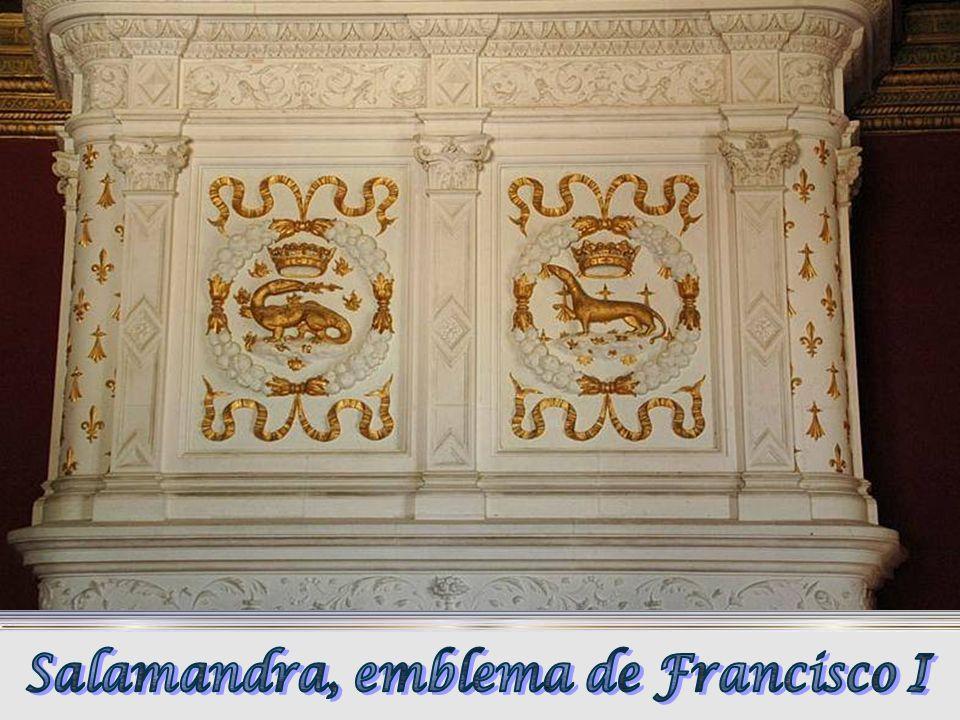 Salamandra, emblema de Francisco I