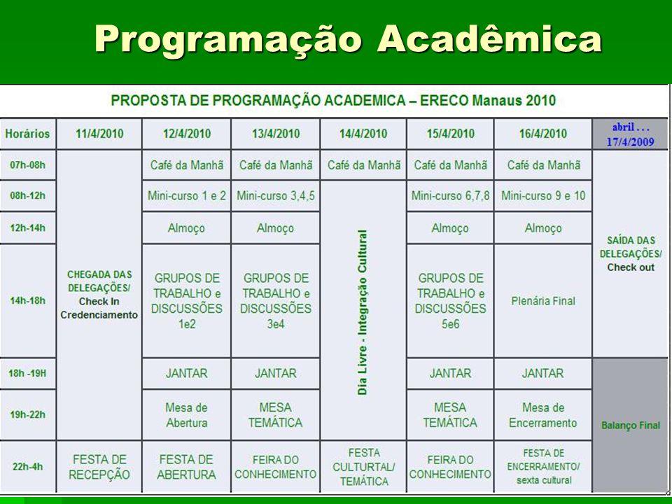 Programação Acadêmica