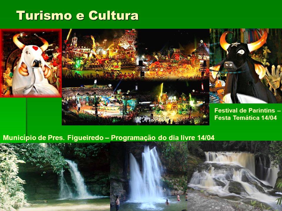 Turismo e Cultura Festival de Parintins – Festa Temática 14/04.