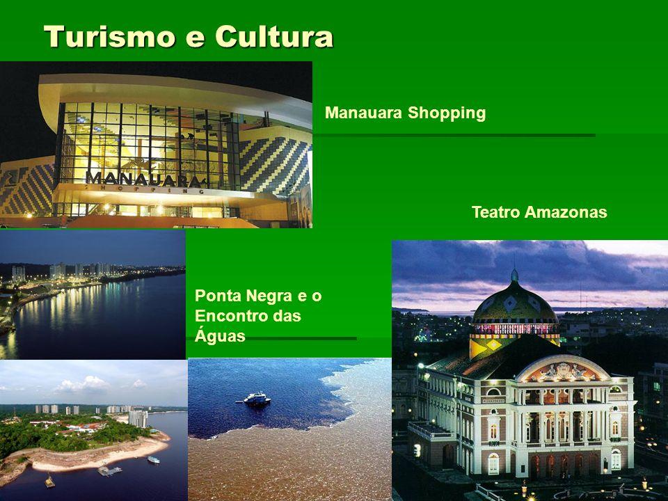 Turismo e Cultura Manauara Shopping Teatro Amazonas