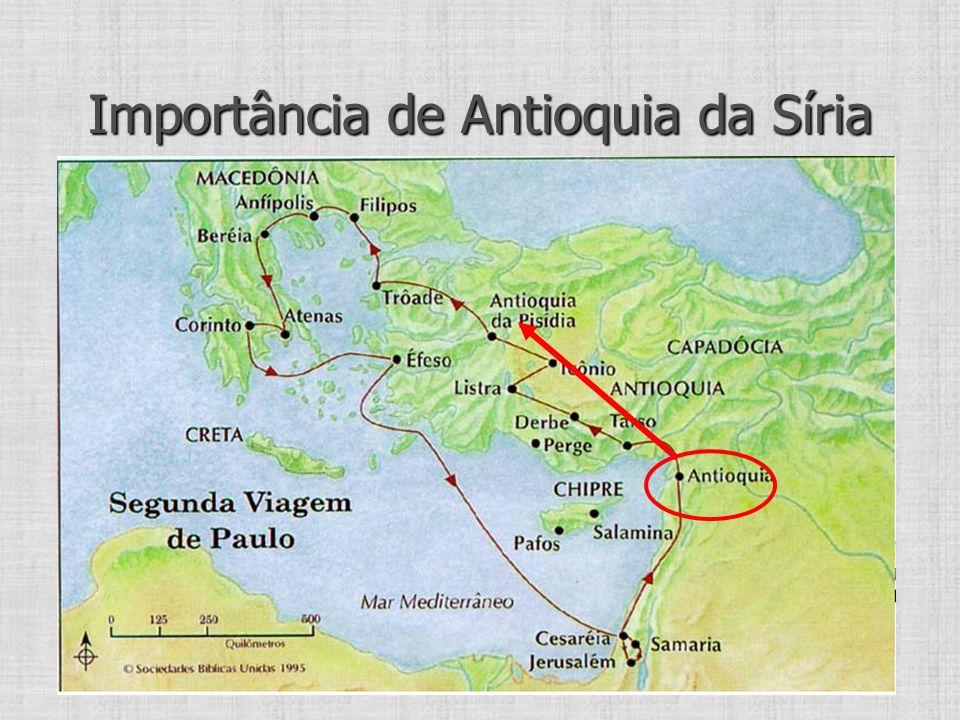 Importância de Antioquia da Síria