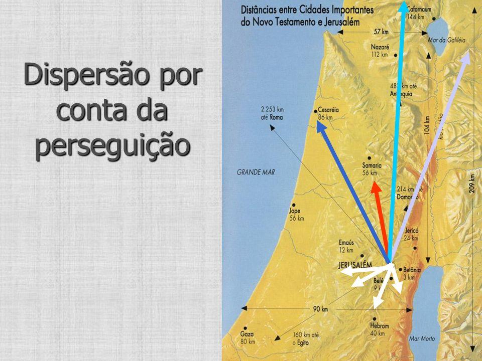 Dispersão por conta da perseguição