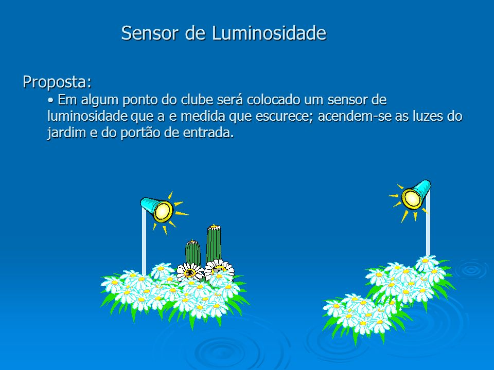 Sensor de Luminosidade