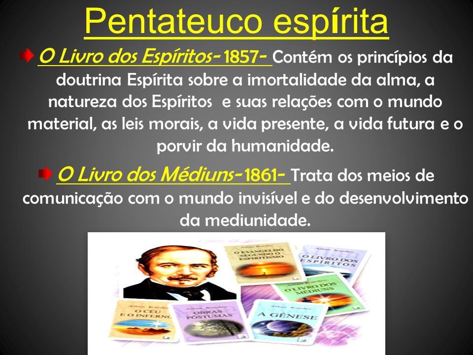 Pentateuco espírita