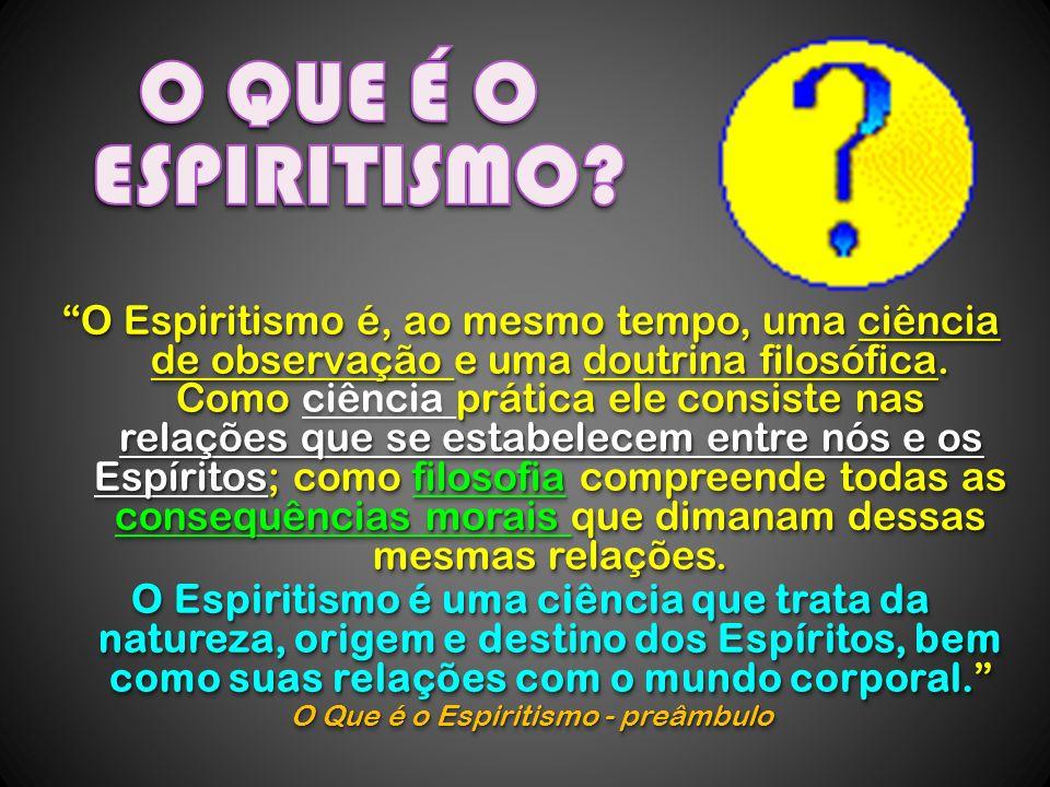 O Que é o Espiritismo - preâmbulo