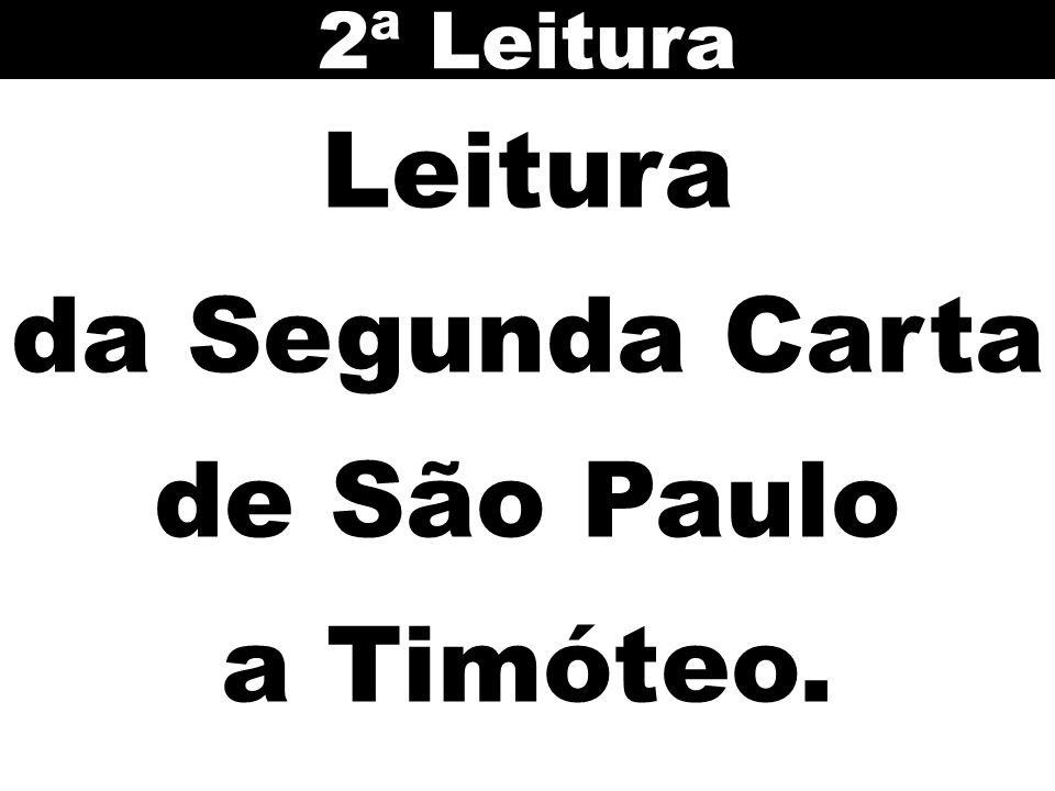 da Segunda Carta de São Paulo