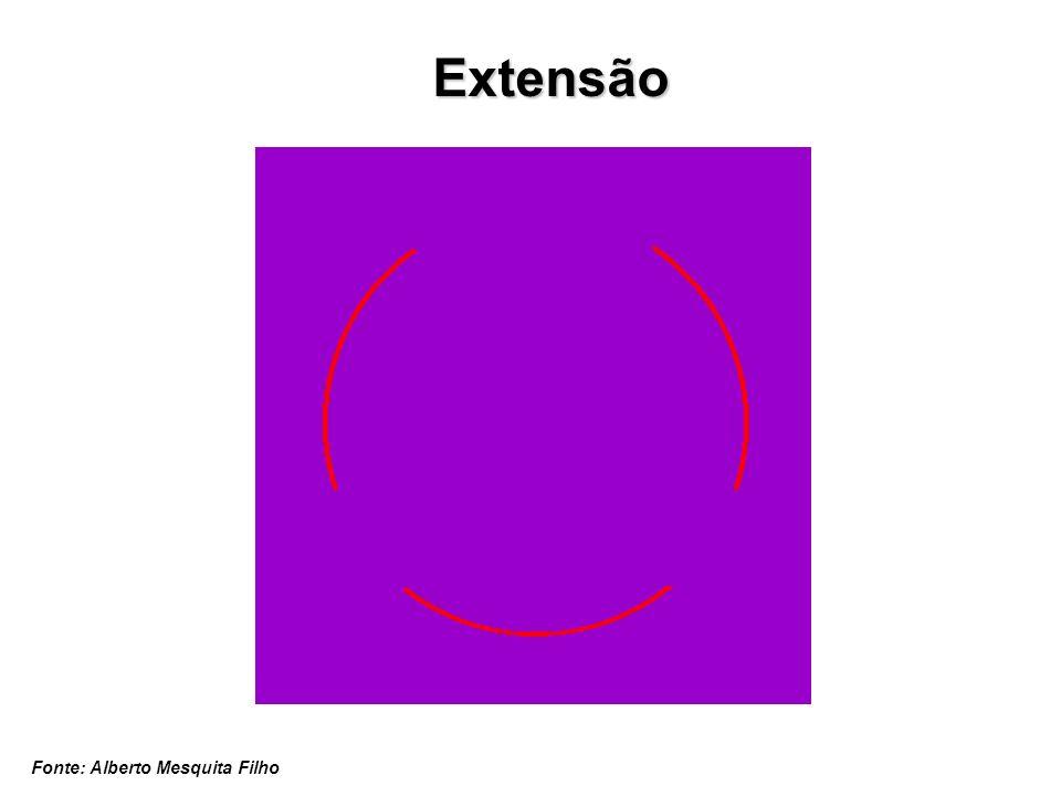 Extensão Fonte: Alberto Mesquita Filho