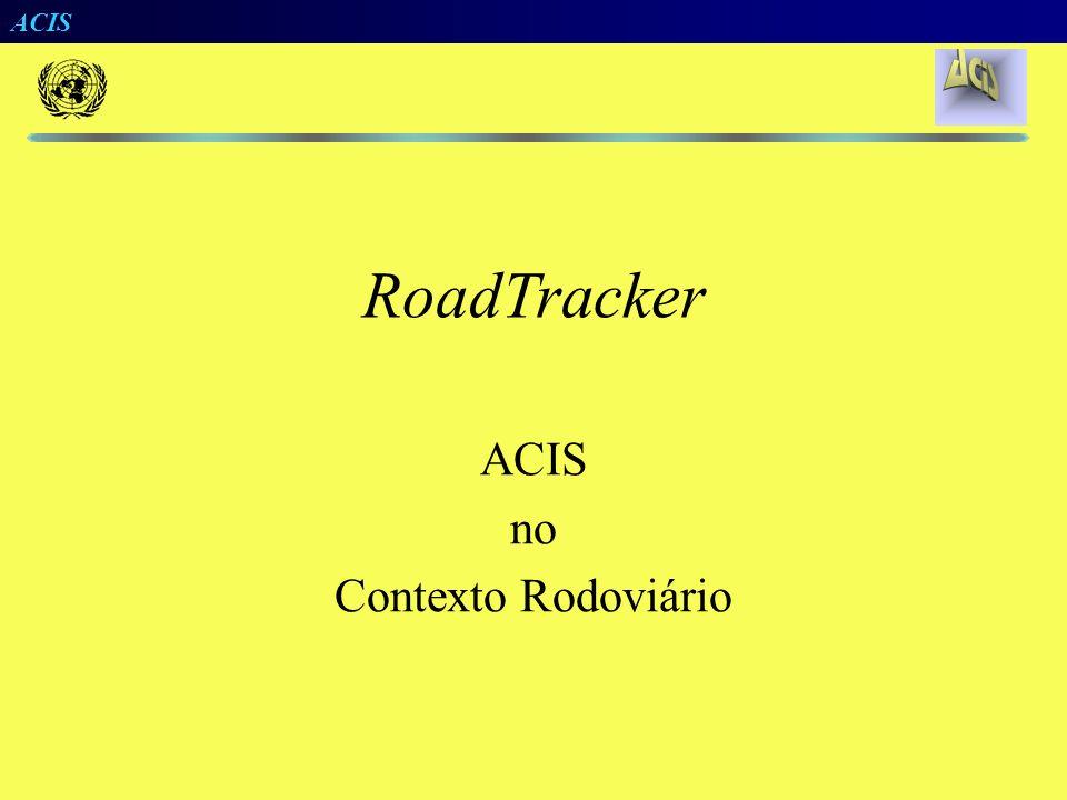 RoadTracker ACIS no Contexto Rodoviário