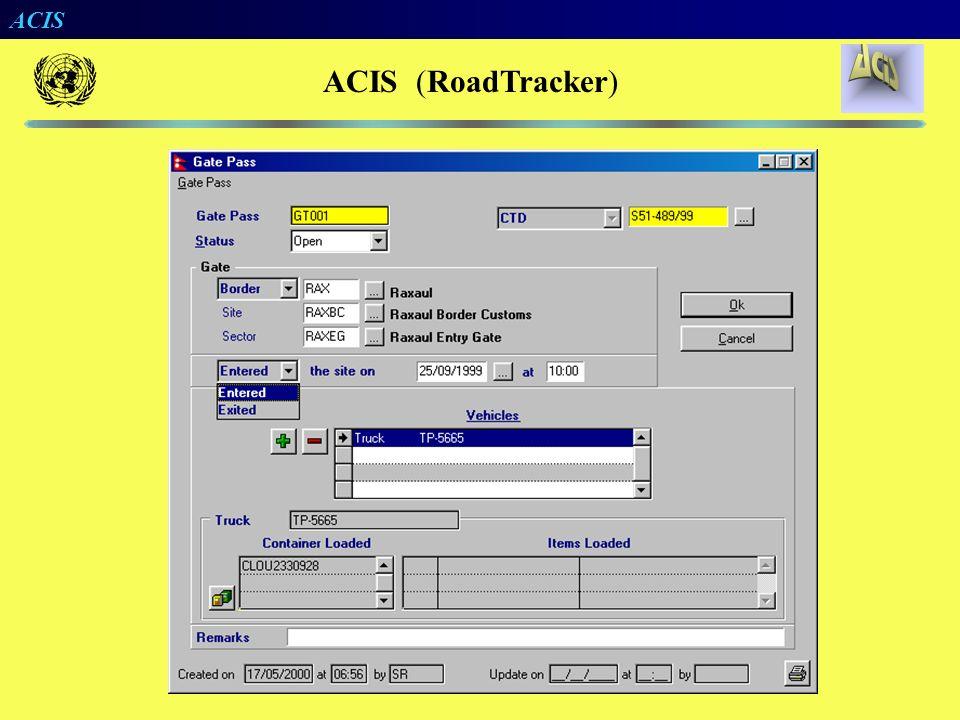 ACIS (RoadTracker)