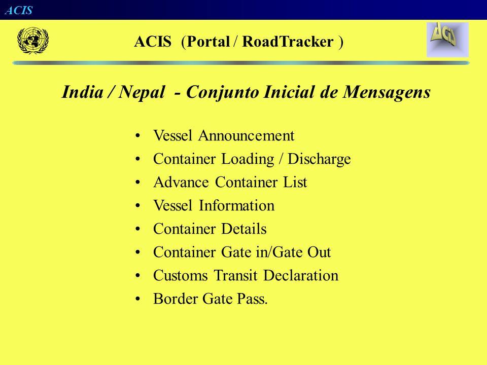 ACIS (Portal / RoadTracker )