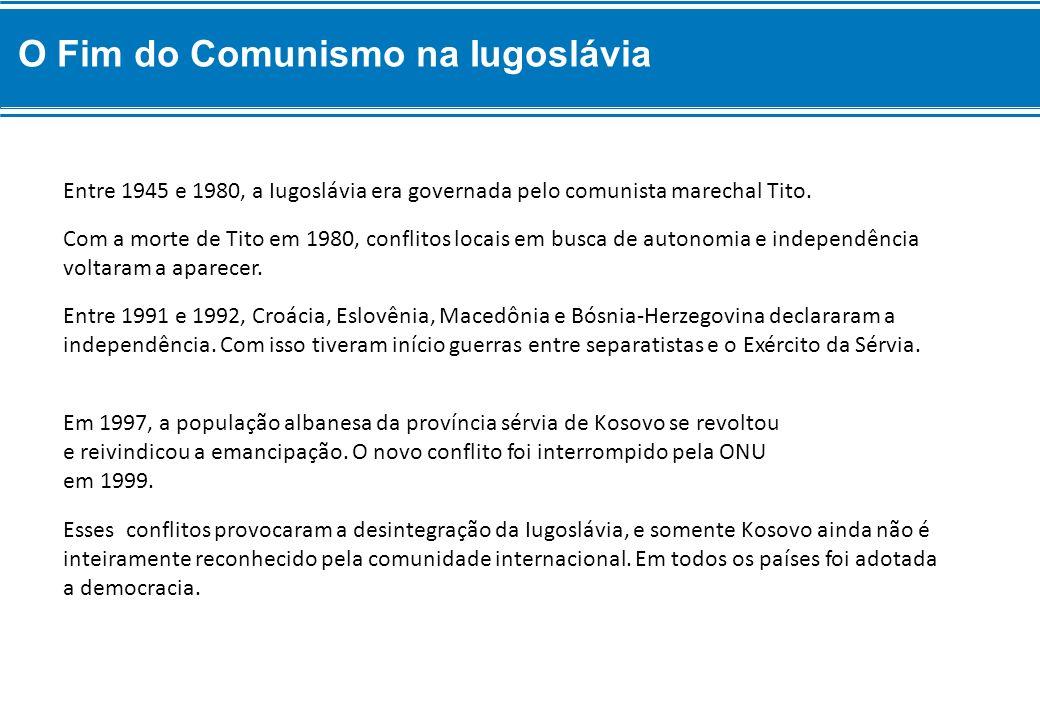 O Fim do Comunismo na Iugoslávia
