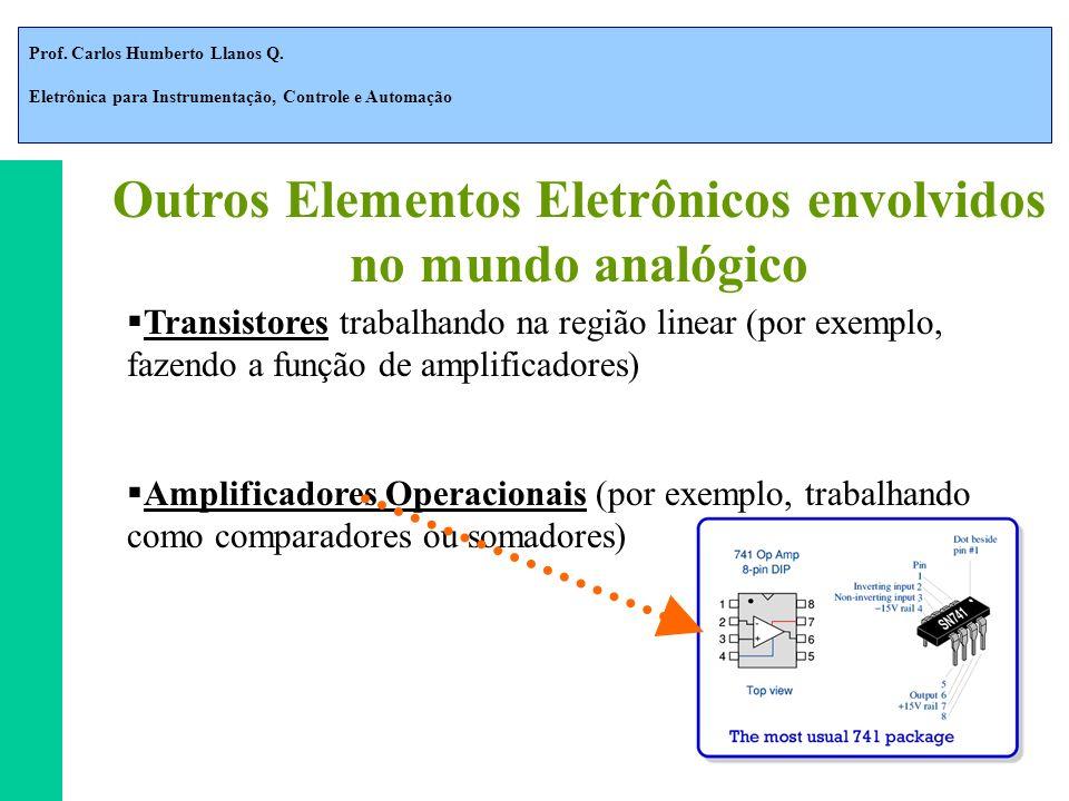 Outros Elementos Eletrônicos envolvidos no mundo analógico