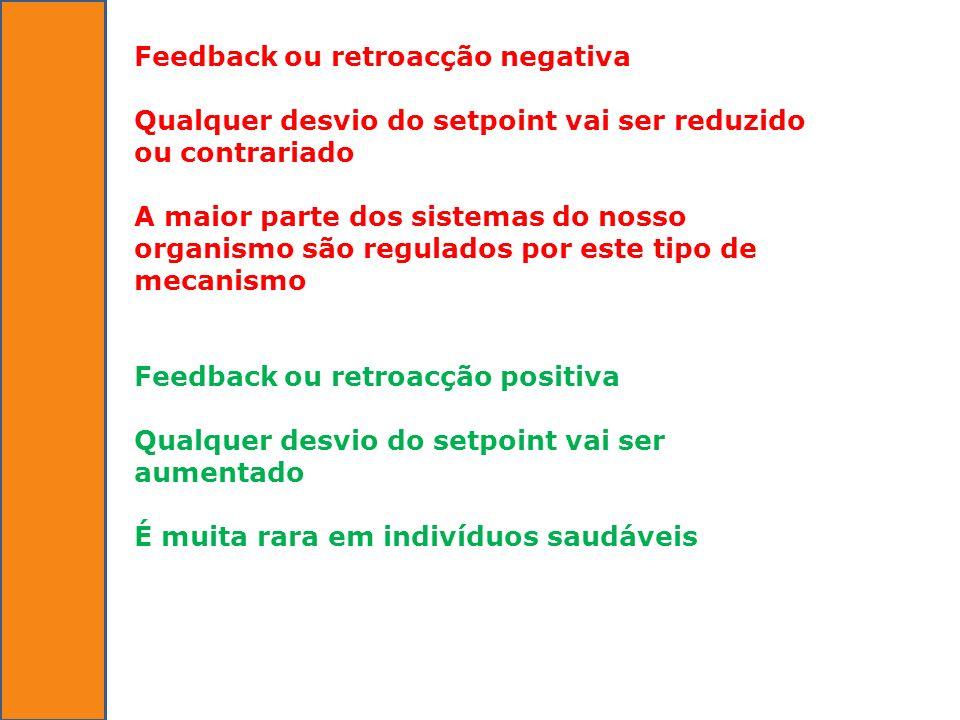 Feedback ou retroacção negativa