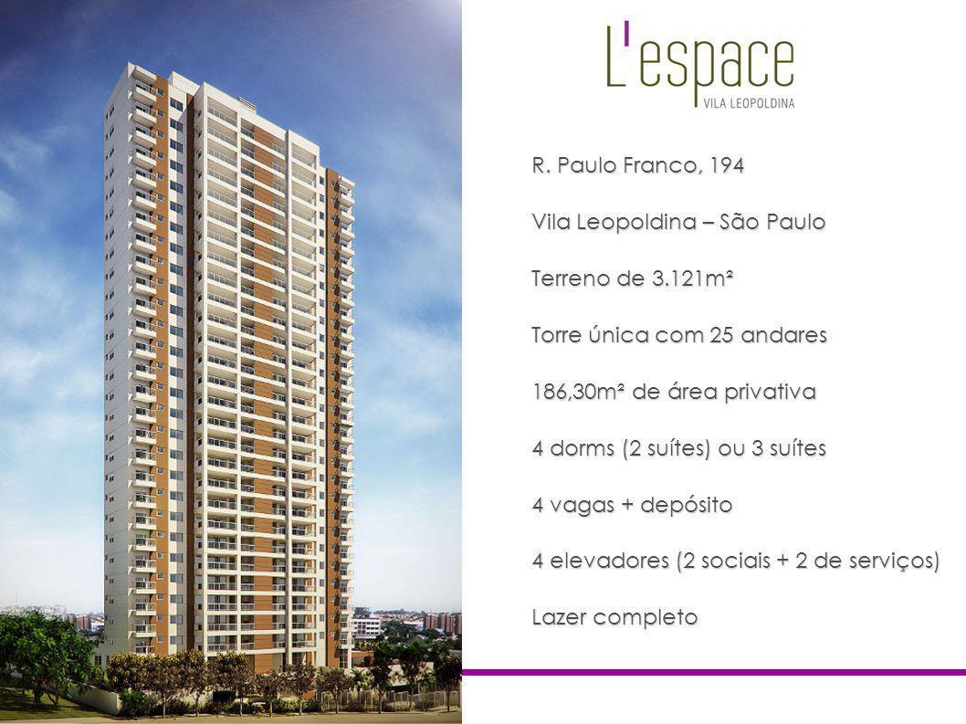 Vila Leopoldina – São Paulo Terreno de 3.121m²