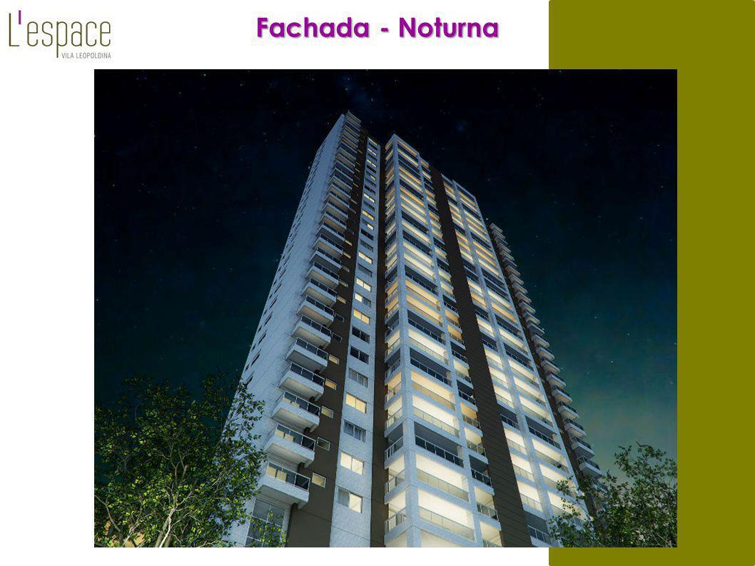 Fachada - Noturna 11