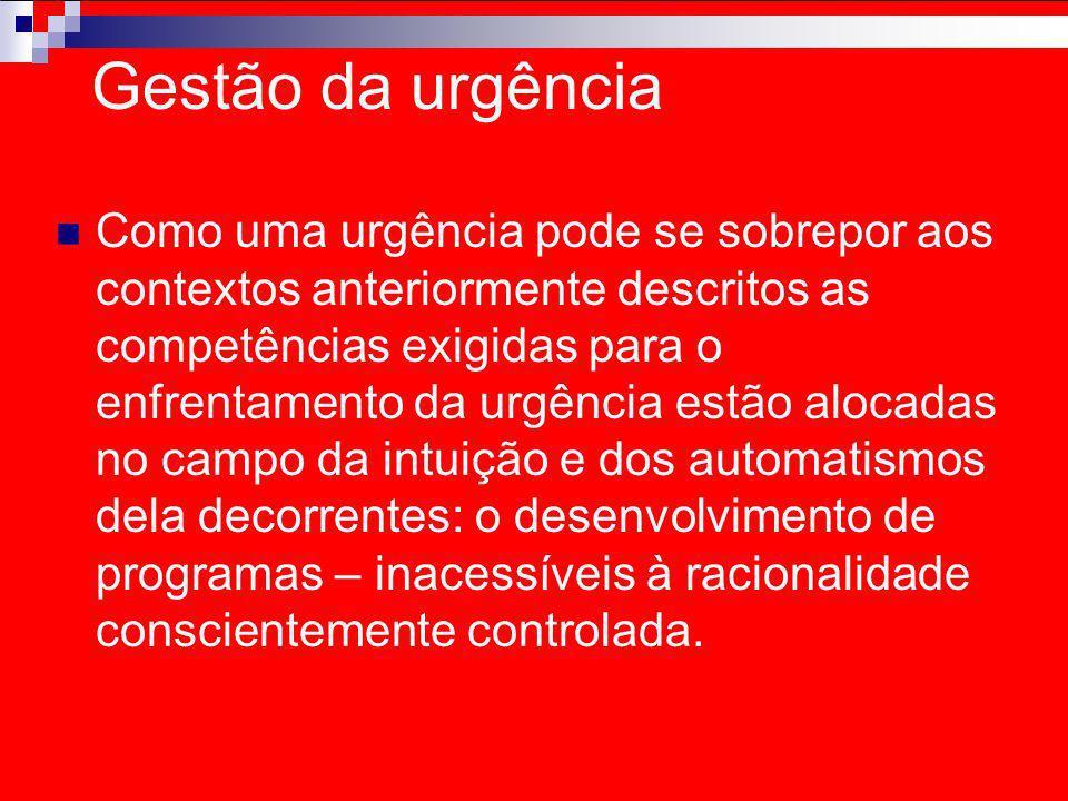 Gestão da urgência