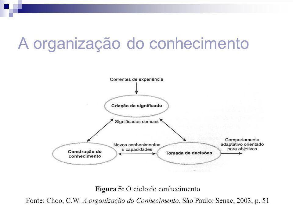 A organização do conhecimento