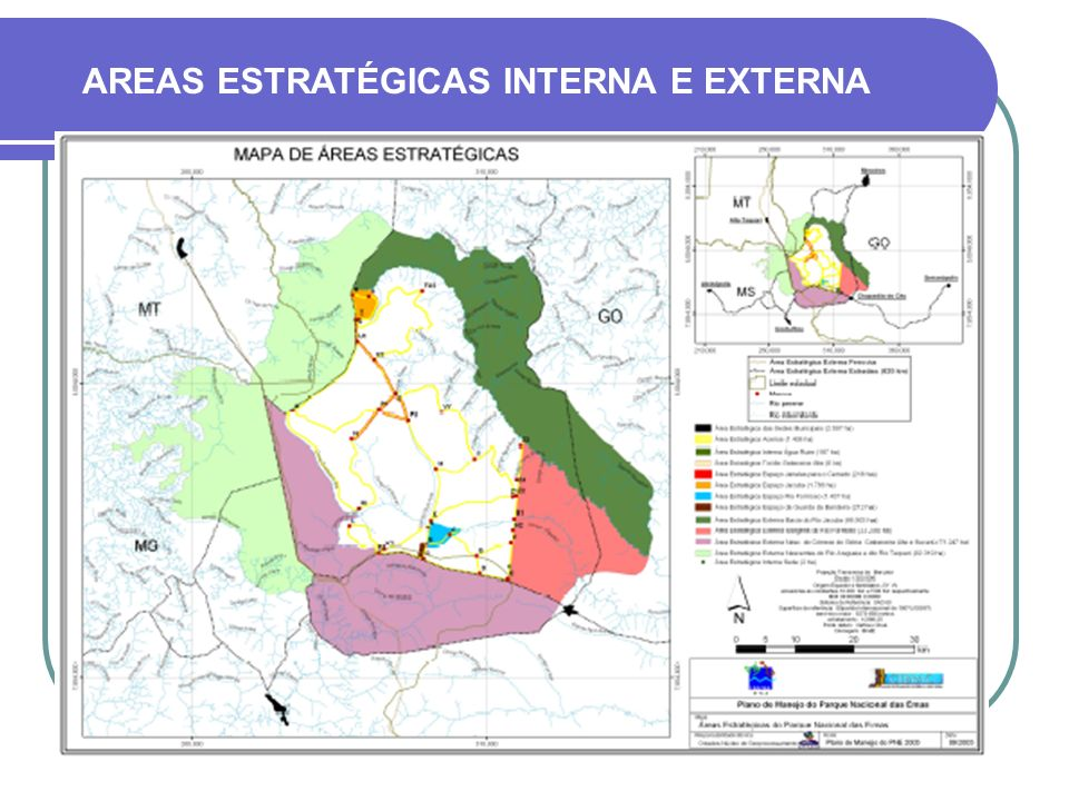 AREAS ESTRATÉGICAS INTERNA E EXTERNA