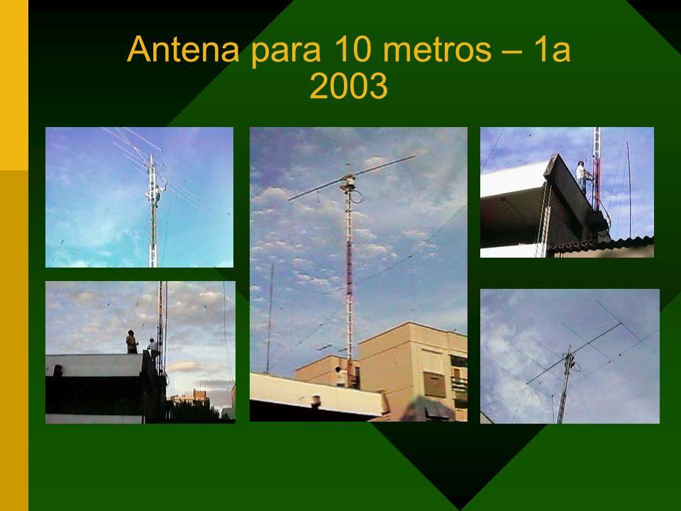Antena para 10 metros – 1a 2003