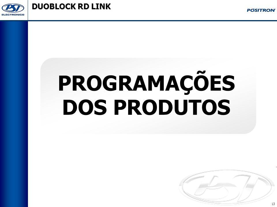 DUOBLOCK RD LINK Programações