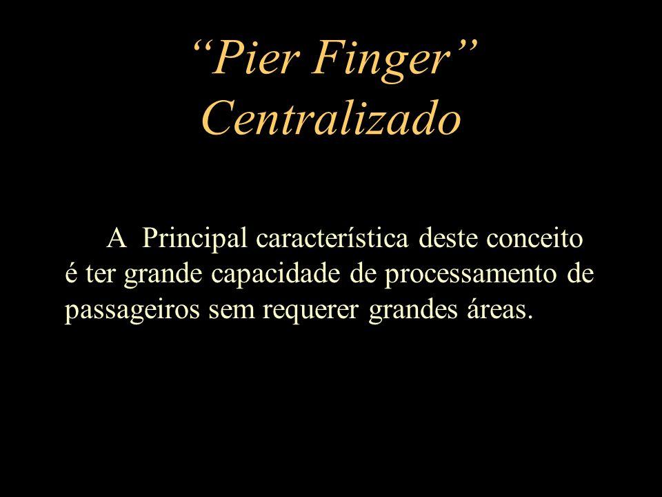 Pier Finger Centralizado