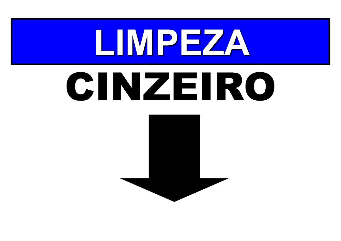LIMPEZA CINZEIRO