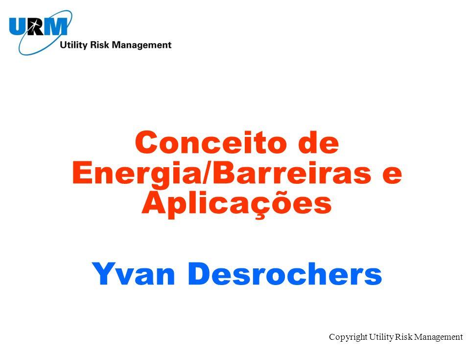 Conceito de Energia/Barreiras e Aplicações