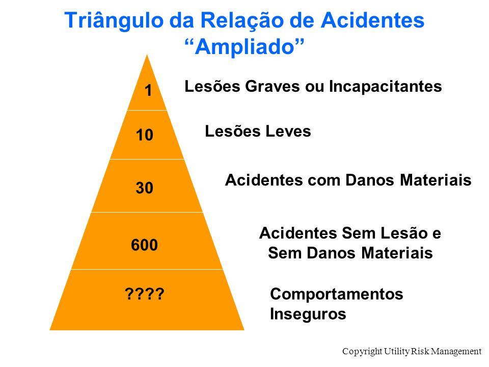 Triângulo da Relação de Acidentes Ampliado