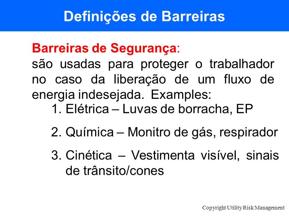 Definições de Barreiras