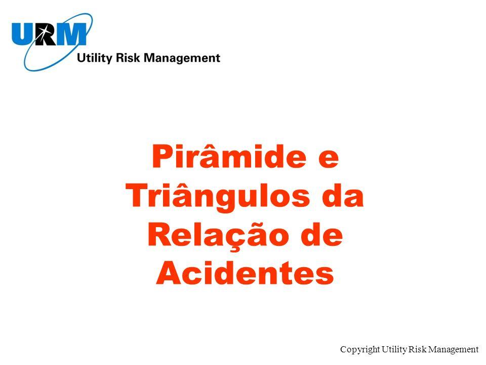 Pirâmide e Triângulos da Relação de Acidentes