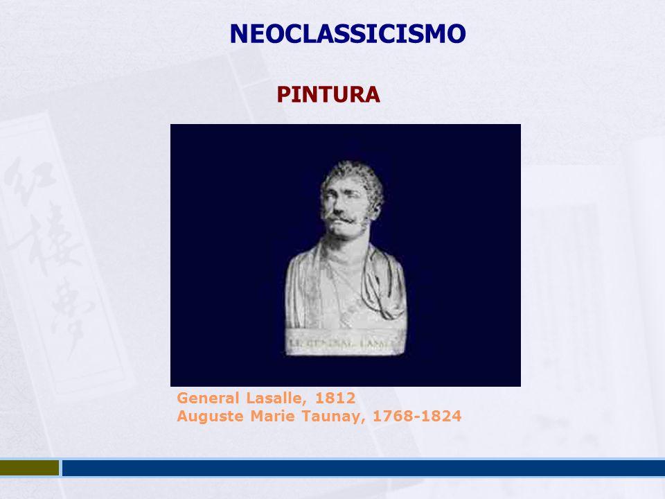 NEOCLASSICISMO PINTURA General Lasalle, 1812