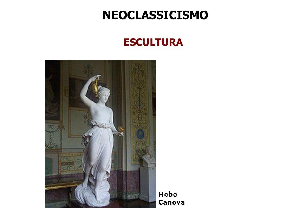 NEOCLASSICISMO ESCULTURA Hebe Canova
