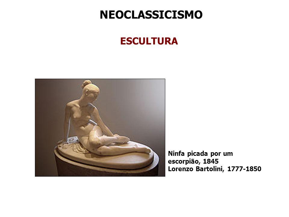 NEOCLASSICISMO ESCULTURA Ninfa picada por um escorpião, 1845