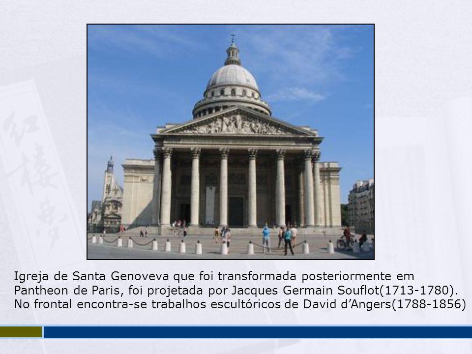 Igreja de Santa Genoveva que foi transformada posteriormente em