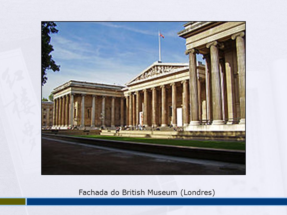 Fachada do British Museum (Londres)