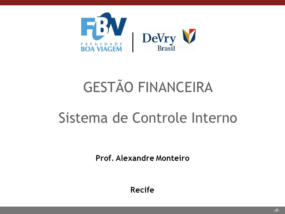 Prof. Alexandre Monteiro