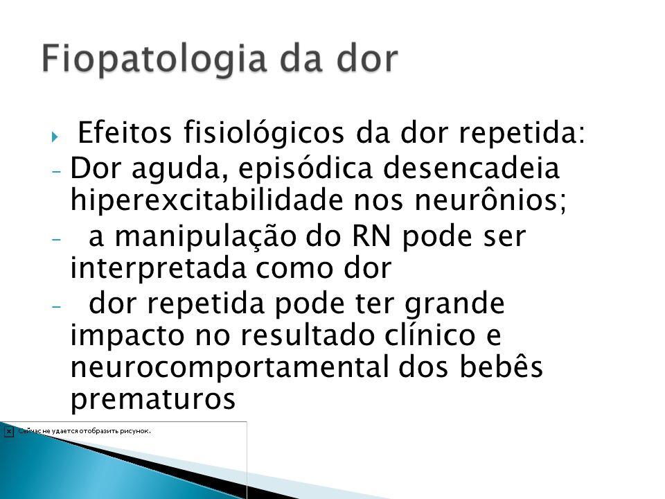Dor aguda, episódica desencadeia hiperexcitabilidade nos neurônios;