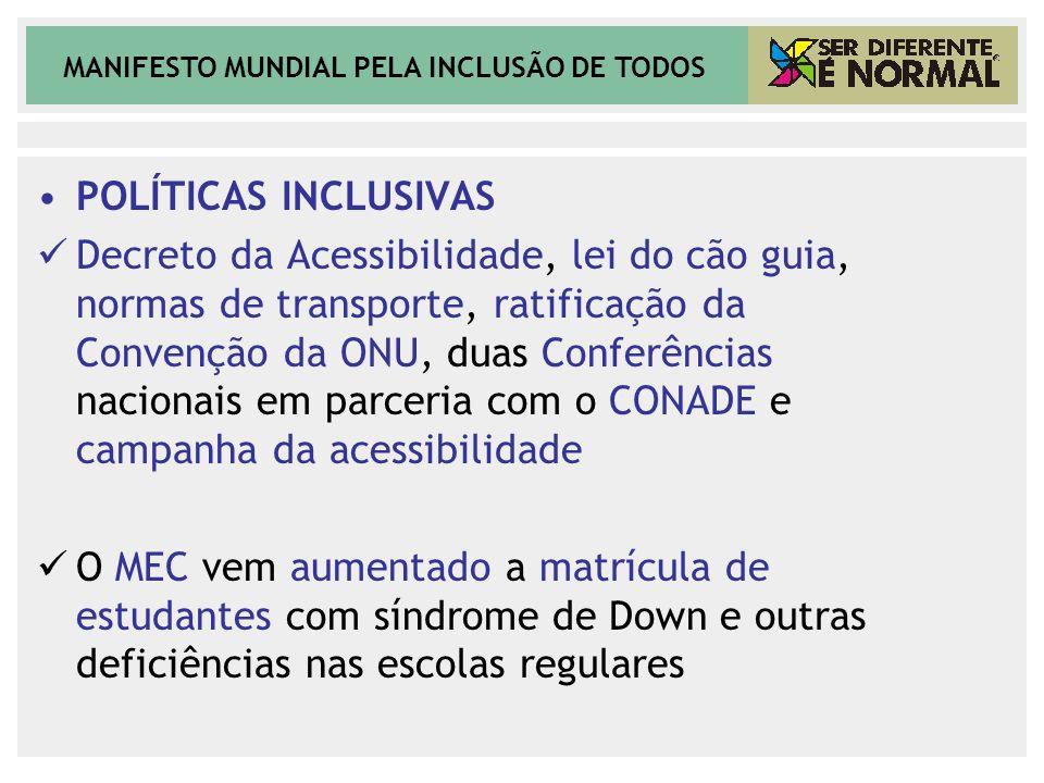 POLÍTICAS INCLUSIVAS