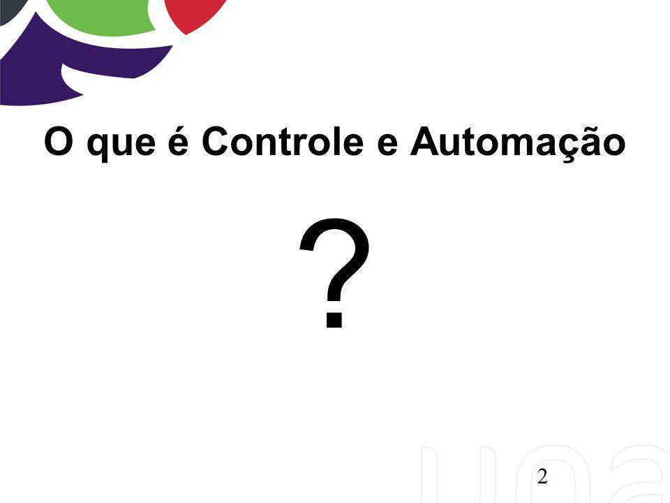 O que é Controle e Automação