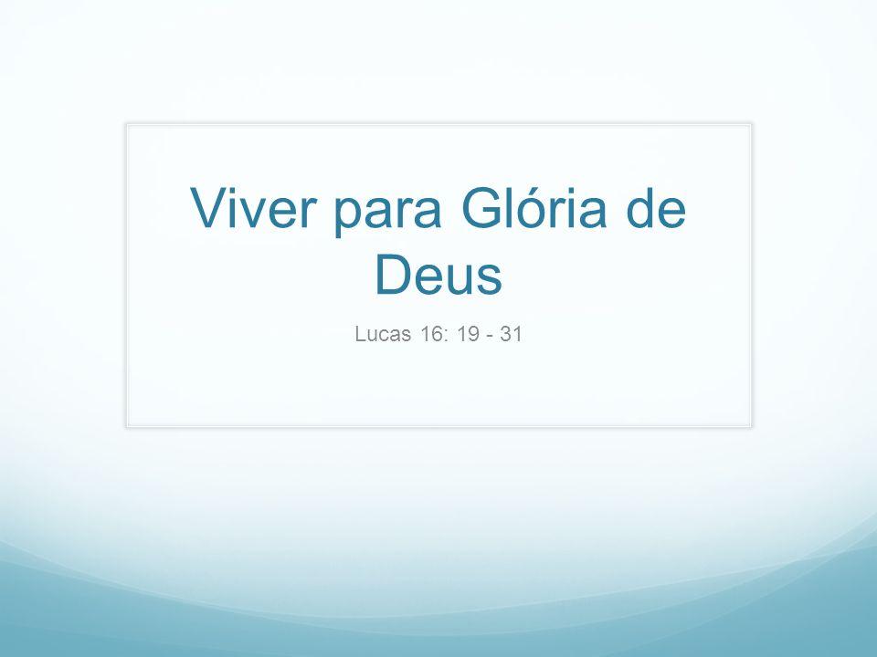 Viver para Glória de Deus