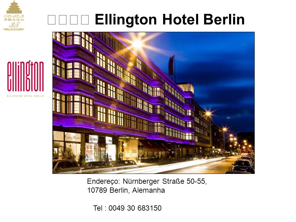 ★★★★ Ellington Hotel Berlin