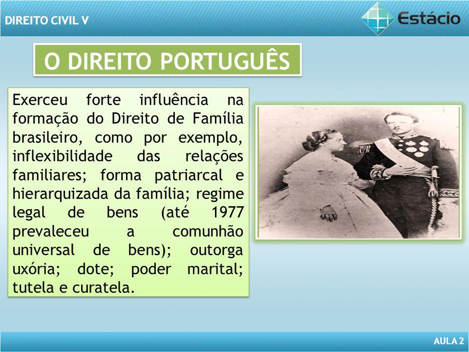 O DIREITO PORTUGUÊS