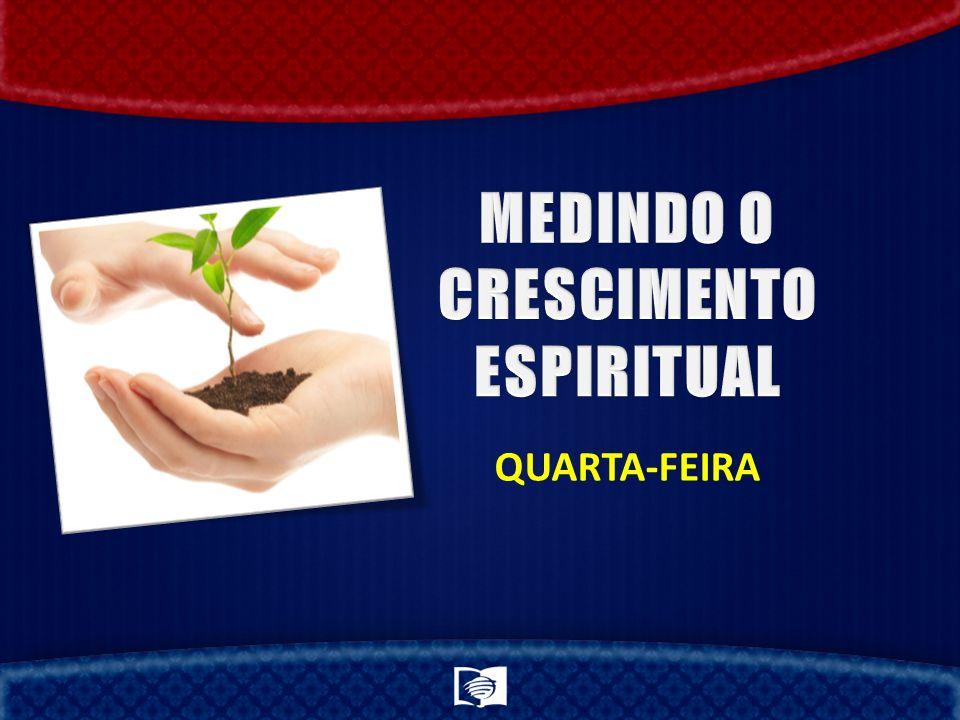 MEDINDO O CRESCIMENTO ESPIRITUAL